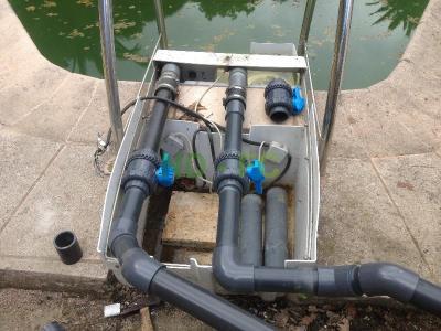 Grasse modification piscine desjoyaux ndec chateauneuf for Domotique piscine